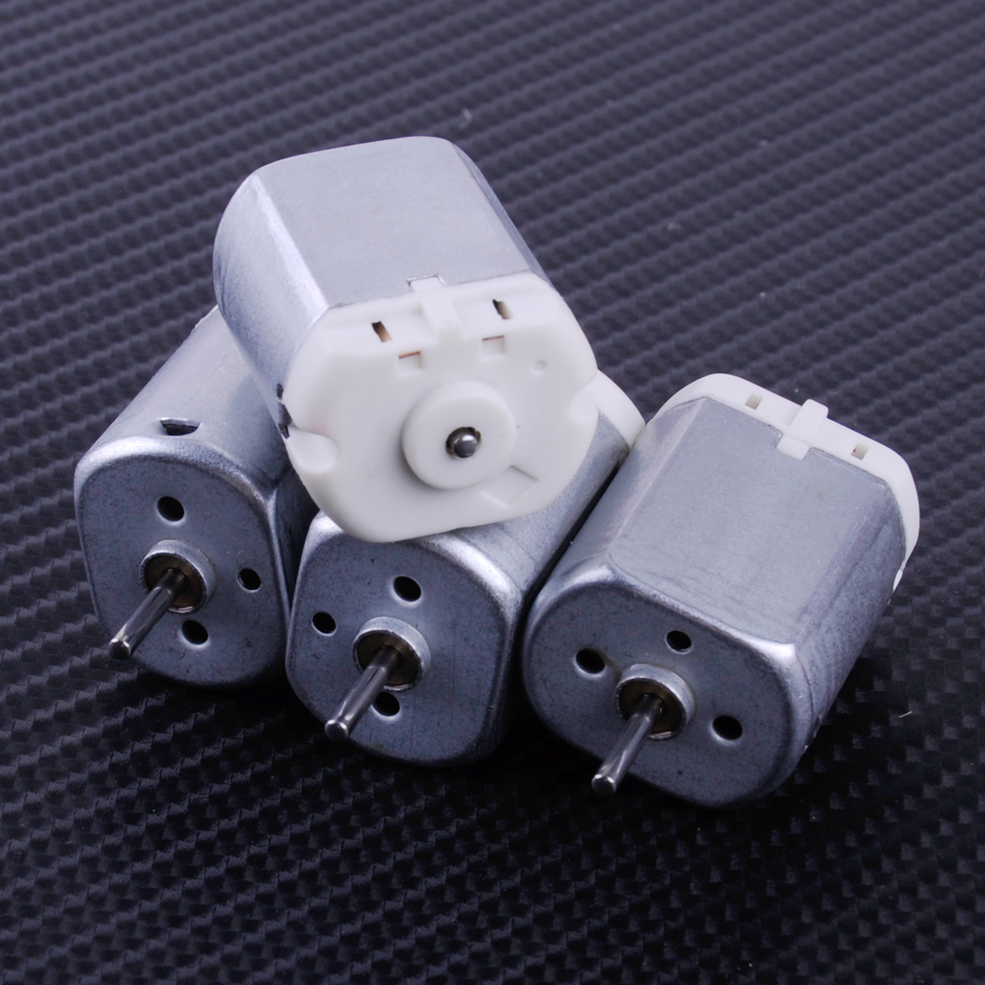 DWCX 4Pcs 10mm 12V Shaft Door Lock Motor Fit for Mabuchi Lexus <font><b>Honda</b></font> Toyota FC280PC 22125 KF243G-101 image