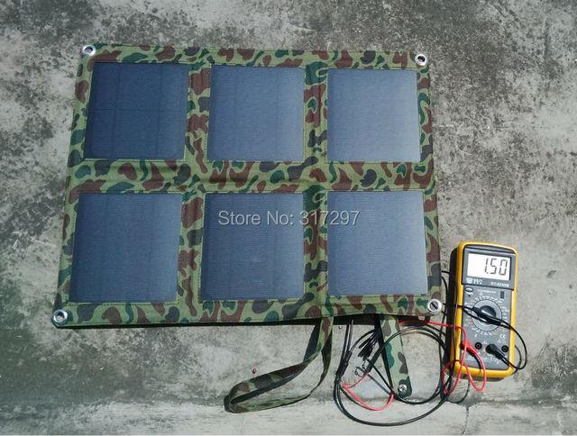 Dobrável 18 Watt Mono Painel Solar Charger + Bolsa Solar Controlador do Carregador de Bateria 12 V para Carro + Controlador de Tensão USB 5 V para o Telefone