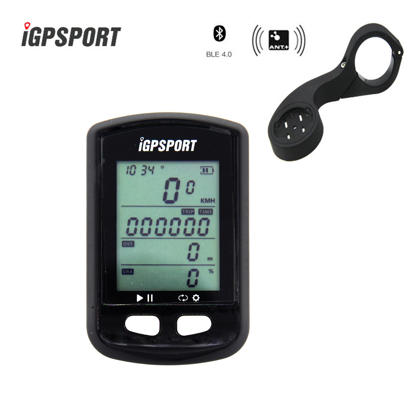 iGPSPORT IGS 20 GPS Computer Cycling Bike Wireless Computer Digital Speedometer Odometer Backlight IPX6 Waterproof Computer