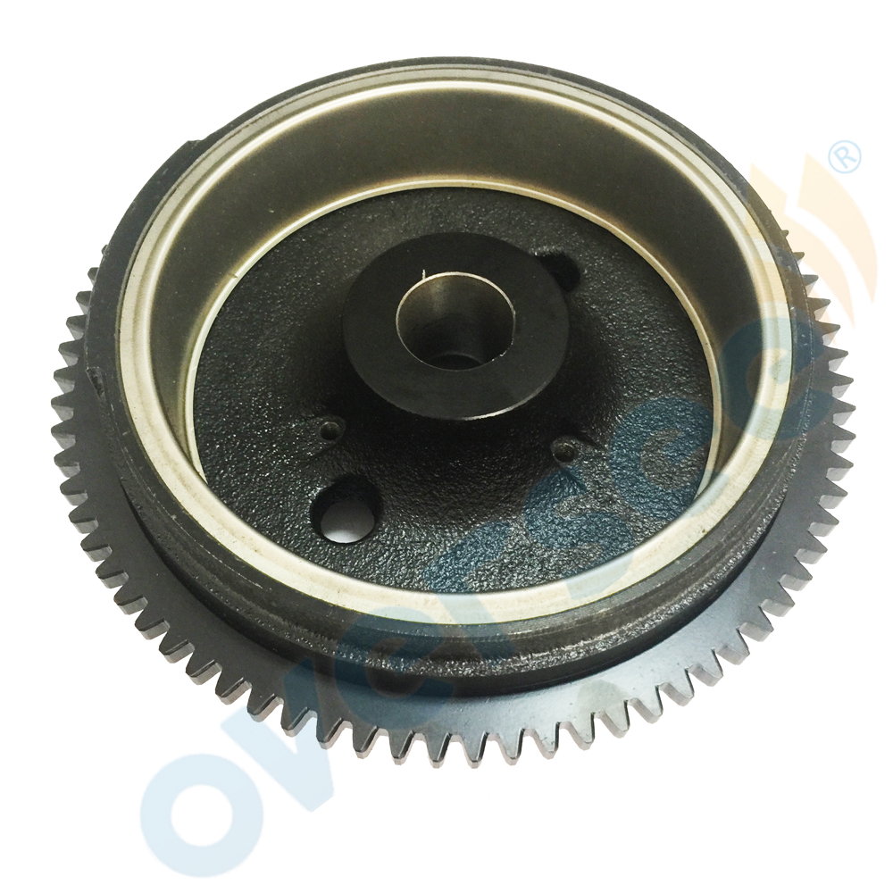 For Fitting Yamaha 4-stroke Outboard T8HLPA Flywheel ROTOR ASSY p.n. 68T-85550-11 2