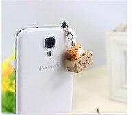 Seeking nurturing cat style 3.5mm Cute Cartoon Cat Design Mobile Phone Ear Cap Dust Plug For Iphone Samsung dust plug