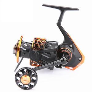 Image 1 - 2017 haute qualité Full Metal 4000 type 13 + 1BB pas de dégagement roue de pêche pêche en mer ligne de pêche wheel DD2