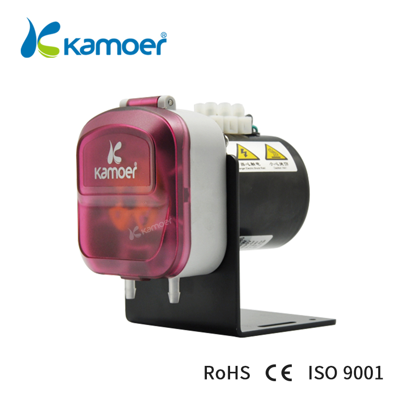 Kamoer KDS Synchronous motor electric detergent pump micro peristaltic dosing pump with 2 rotors (BPT tube or silicob tubing) цена