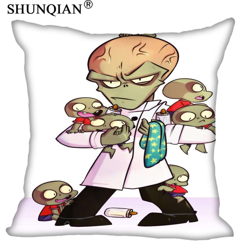 Hot Sale New Custom Plants vs. Zombies Square Pillowcases zipper Fashion Custom Pillow Case Cover Decorative