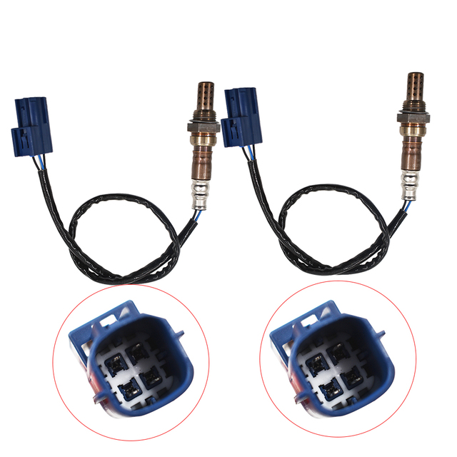 Labwork 2Pcs Downstream Rear Heated O2 Oxygen Sensor For Nissan Frontier Xterra