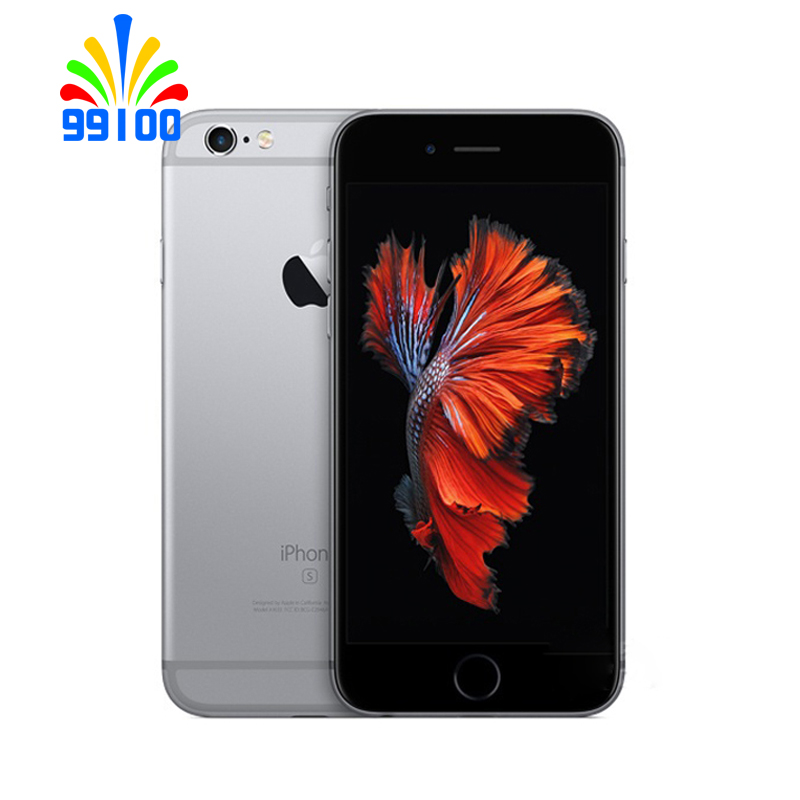 Apple iphone 6s plus desbloqueado original, 5.5 polegadas 64bit dual core 1.8ghz 2gb ram 16gb/32gb/64gb/128gb wcdma 4g lte 1