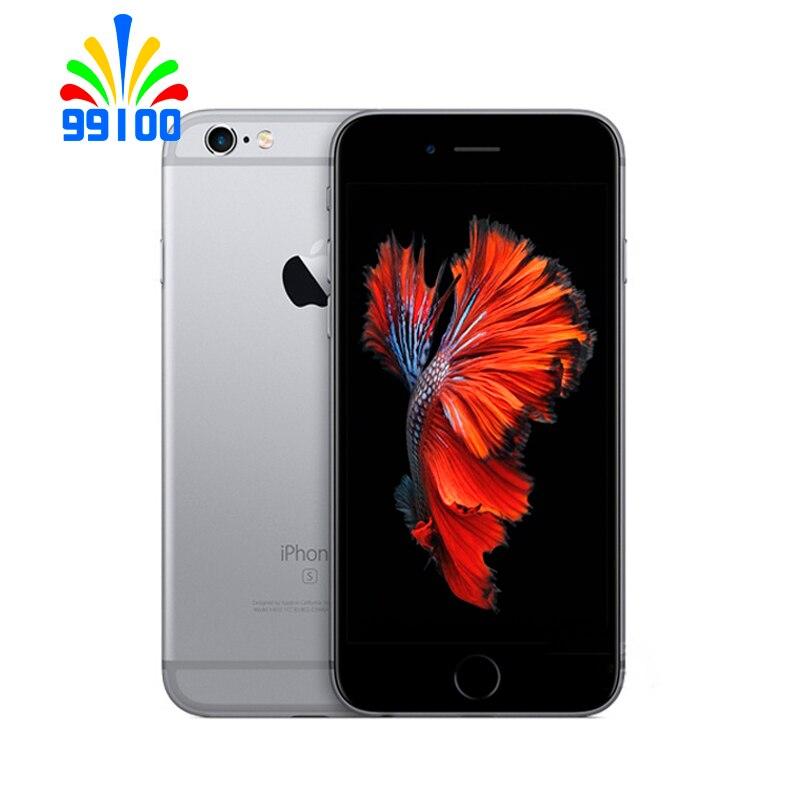 Б/у Оригинальный разблокированный Apple iPhone 6s Plus 5,5 дюймов 64 бит двухъядерный 1,8 ГГц 2 Гб ОЗУ 16 Гб/32 ГБ/64 Гб/128 ГБ WCDMA 4G LTE