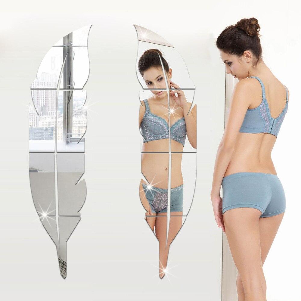 Foglia specchio a parete acquista a poco prezzo foglia specchio a ...