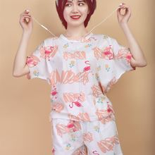 Cotton Pajama Female Suit