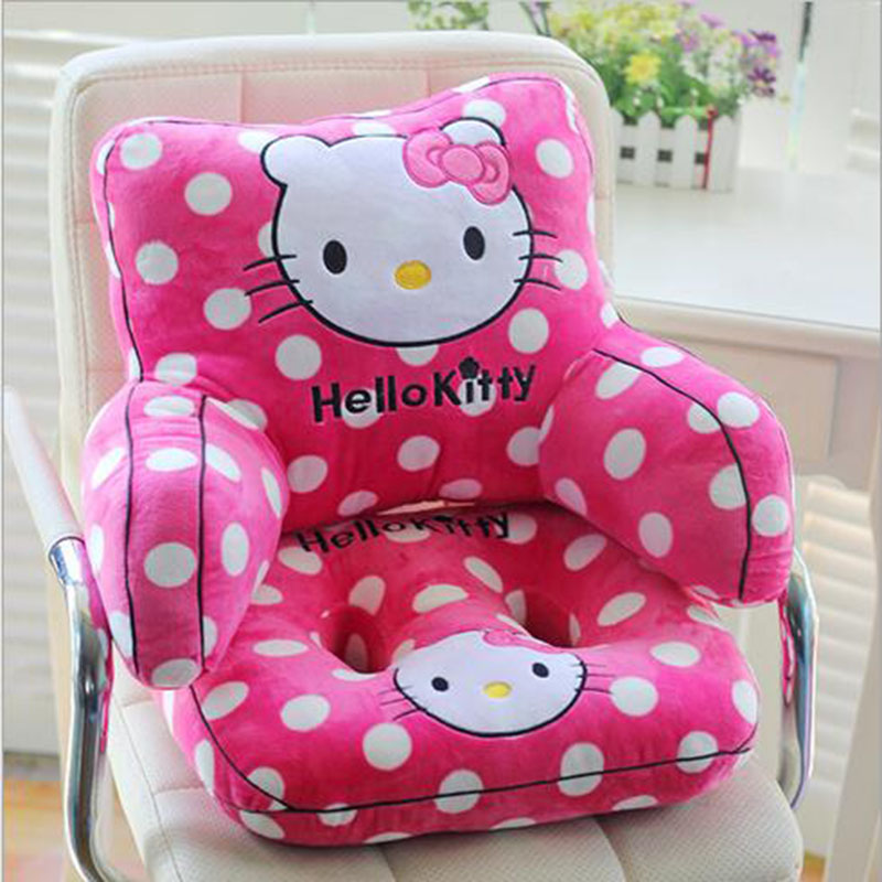 cartoon pillow back cushion with arm support bed reading rest waist chair car seat sofa - Bed Rest Pillow With Arms