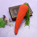 Newborn Photography Props Baby Girls Boys Radish Bunny Crochet Knitted Carrot Baby Photo Props Accessories