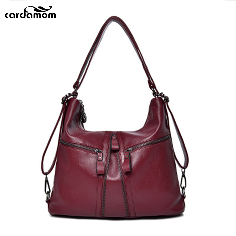 Cardamom 2018 New Women Messenger Bag Female Zipper Shopping Business Shoulder Bags Fashion Appointment Party Half Moon Bag round buckle lunch box bucket bag female 2018 new fashion messenger female shoulder bag
