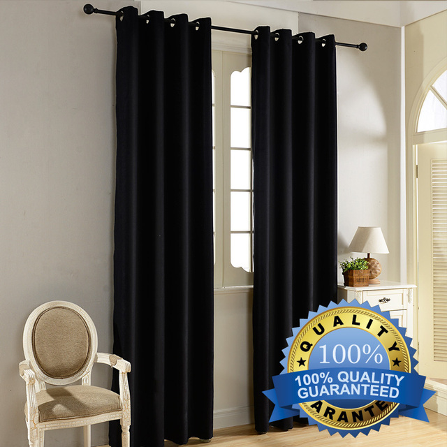 Top Finel Modern Solid Velvet Blackout Curtains for Living Room Bedroom Luxury Black Out Curtains Thick Thermal Night Curtain