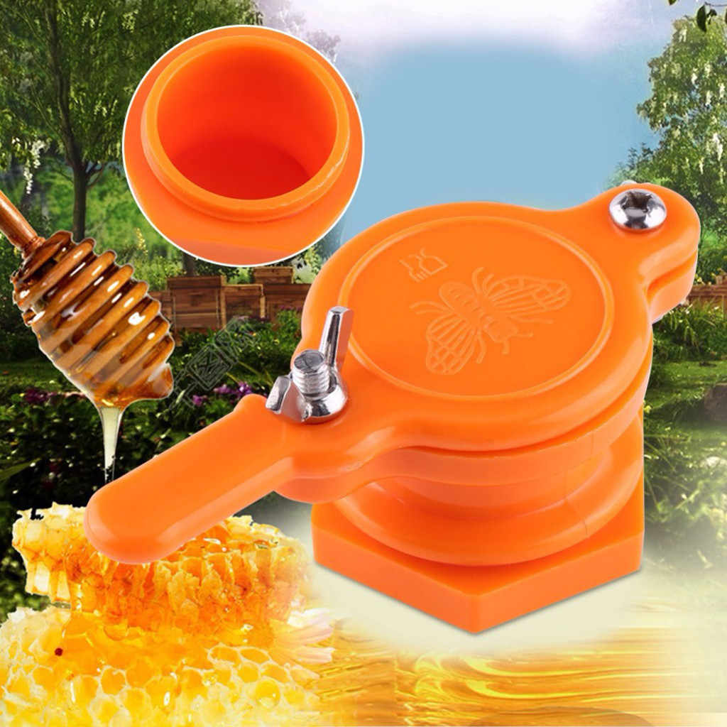 Plastic Bee Honey Tap Gate Valve Beekeeping Extractor Bottling Tool  good seal Reusable durable Non-toxic Creative practical