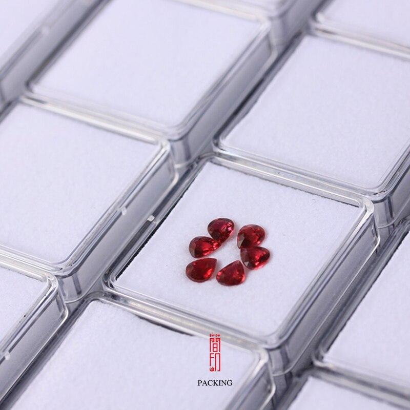 Image 4 - 24 pièces/plateau boîte de pierres précieuses Transparent en  plastique noir et blanc couleur diamant présentoir boîte de gemme ou  organisateur de pierres précieusesgemstone boxgem boxdisplay tray -