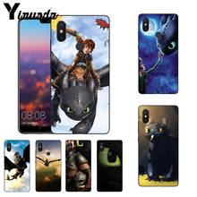 How To Train Your Dragon Desdentado Yinuoda Coque Caixa Do Telefone para Xiao mi mi mi mi x2 6 x2S Note3 8 8SE Vermelho mi 5 5 Plus Note4 4X Note5(China)
