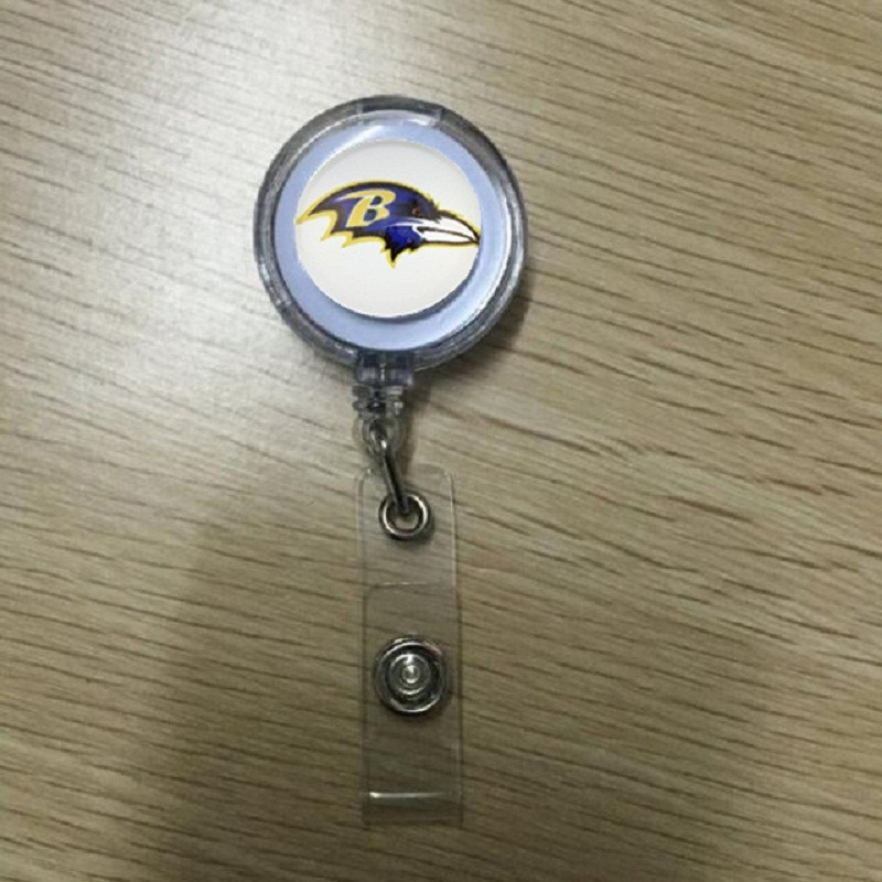 10PCS-New-York-Giants-Stretchable-Eyeglass-Holder-ID-Badge-Holder-NFL-Keychain-Keyring-Name-Tag-Holder