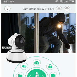 Image 3 - 2.4G Smart Home Security Home Security Wifi Alarmsysteem Android/Ios App Smartphone App Smart Host V10