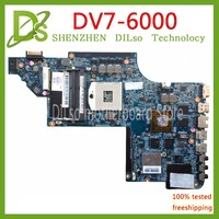 KEFU DV7 6000 motherboar 665991 001 for Hp Pavilion DV7 DV7 6000 HM65 665991 001 H6670/2G 100% original TEST MOTHERBOARD