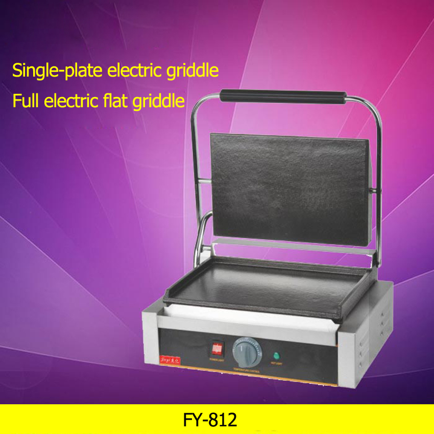 1PC Stainless steel Single-plate electric griddle grill / grill pan / High quality grill machine