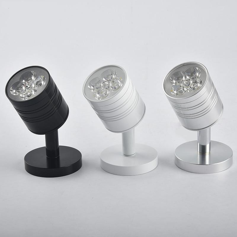 1 Stücke 3 Watt/5 Watt Led Spot Licht Aufbau Led-downlight Mit Moving Head Kühle/warmes Weiß Led-leuchten Für Haus Ac85-265v Um Eine Reibungslose üBertragung Zu GewäHrleisten