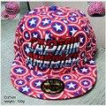 Горячая Фильм Капитан Америка щит дизайн Косплей Cap Новинка мультфильм розовый blue Marvel дамы платье mans Hat подвески бейсболка