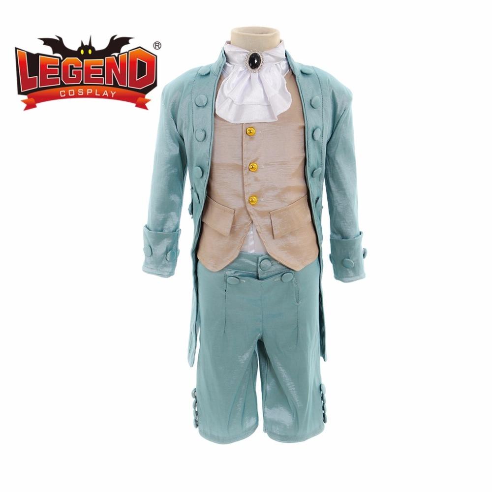 Home Cosplaydiy Kids Victorian Elegant Gothic Aristocrat Suit 18th Century Boys Girls Medieval Retro Gothic Ball Gown Suit L320 Reasonable Price