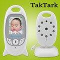 Monitor Do Bebê de Vídeo sem fio 2.0 polegada Cor de Segurança Camera 2 Way Discussão NightVision IR LED de Monitoramento de Temperatura com 8 Canções de Ninar