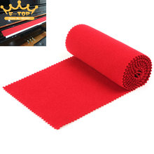 Red Soft Piano Key Cover Keyboard Dust Cover