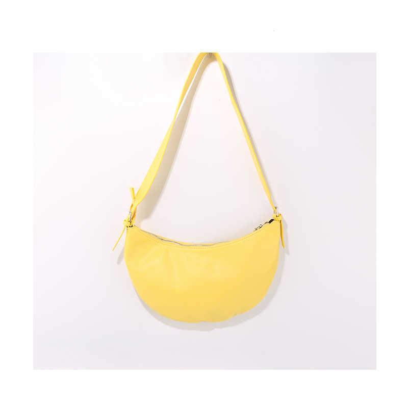 Bolso de hombro Simple para mujer bolso de pecho de diseñador de lujo Hobo bolsos bandolera para mujer bolso de mano
