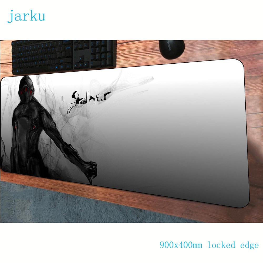 stalker <font><b>padmouse</b></font> <font><b>900x400x3mm</b></font> gaming mousepad game Gorgeous large mouse pad gamer computer desk Cartoon mat notbook mousemat pc image