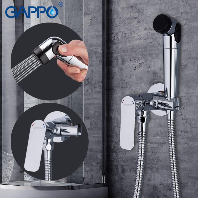 все цены на GAPPO Bidet Faucets bidet toilet sprayer bidet shower set muslim shower toilet wall mount Spray Shattaf онлайн