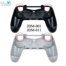 YuXi กลับ shell Case สำหรับ PlayStition 4 PS4 รุ่นเก่า Controller JDM 001 011 พลาสติก