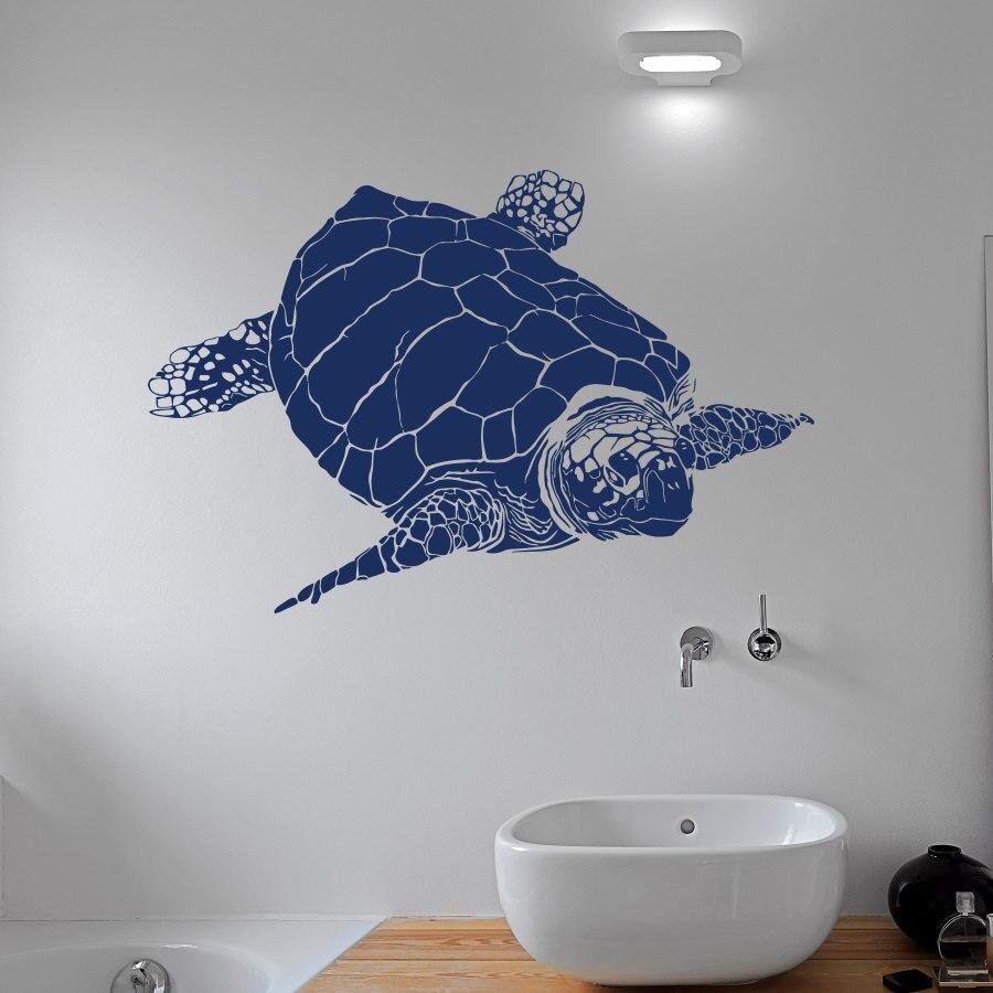 Turtle Wall Decal Sea Animal Tortoise