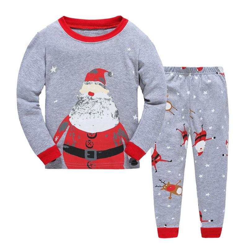 Online Buy Wholesale kids santa pajamas from China kids santa ...