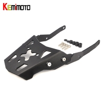 KEMiMOTO Motorcycle Accessories Rear Carrier Luggage Rack For YAMAHA MT 10 MT10 MT 10 2016 2017