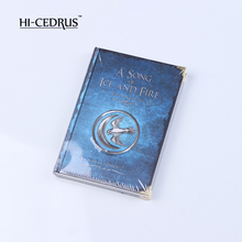 Blue hard copy classical notebook diary and daily planner journal A Song of Ice and Fire