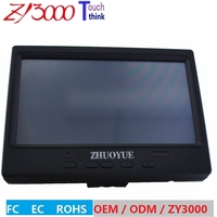 NEW HD 1280*800 7 Color TFT LED Car Rear View Monitor With VGA,HDMI , Video Input For Reversing Camera DVD VCD