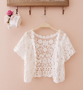 Buy lace short cardigan and get free shipping on AliExpress.com