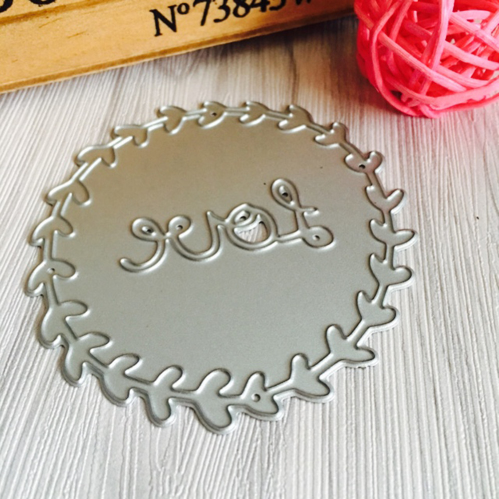 69*71mm scrapbooking DIY love flower frame Shape Metal steel cutting die flower Shape Book photo album art card Dies Cut