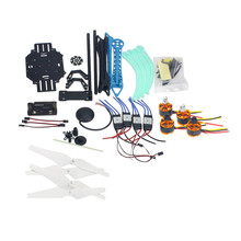 JMT RC Drone Quadrocopter Aircraft Kit 500mm Multi-Rotor Air Frame 6M GPS APM2.8 Flight Control No Transmitter Battery F08151-K