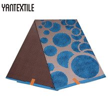 ФОТО yantextile new arrival ankara fabric african real wax print 100% polyester quality for wedding dress wear sexy african fabric