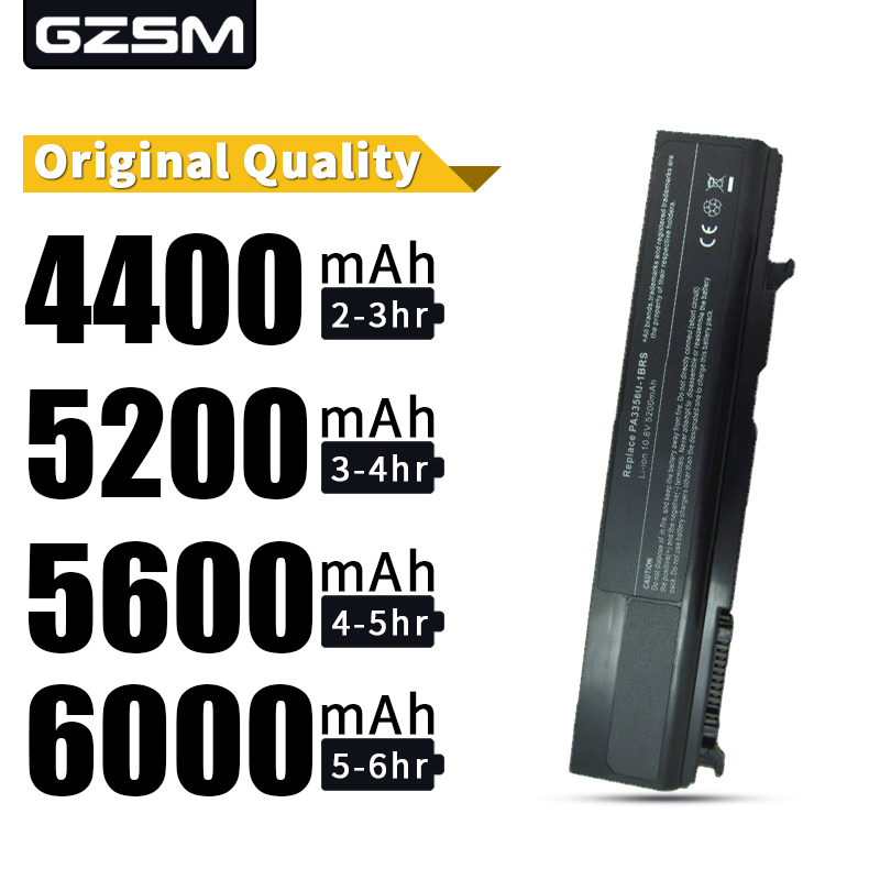 HSW Laptop Battery For TOSHIBA Tecra A10 A2 A3 A9 M10 M2 M3 M5 M9 R10 PA3356U-1BAS Battery PA3356U-1BRS PA3356U-2BAS Battery