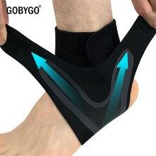 GOBYGO, 1 шт., Спортивная поддержка лодыжки, эластичная, высокая защита, спортивное оборудование для голеностопа, безопасность, бег, Баскетбол, поддержка голеностопа