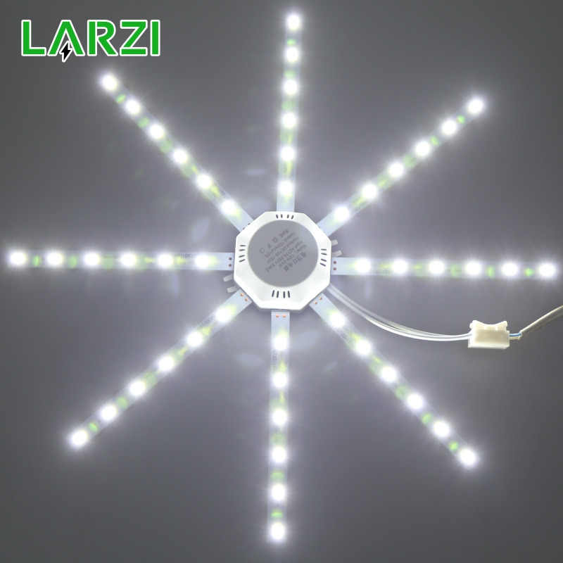 LARZI LED Ceiling Lamp Octopus Light 12W 16W 20W 24W LED Light Board 220V 5730SMD Energy Saving Expectancy LED Lamp