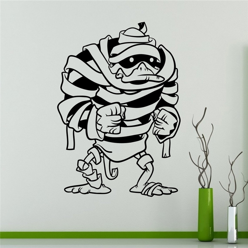 Duck Tales Game Comics Wall Decal Cartoons Classroom Kids Interior Living Room Wall Stickers home decoration # M18 image