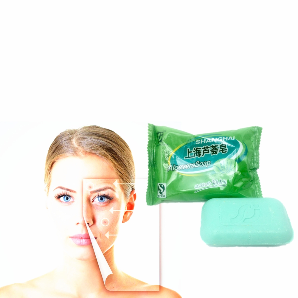 Revitalizing Repairing Beauty ALOEVERA Cleaning Soap For Face Care Whitening Skin 85g