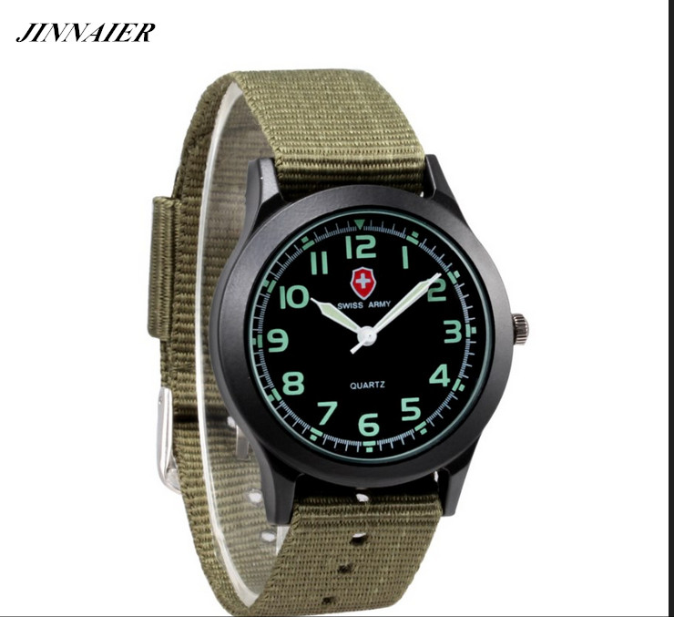 2017 New Arrived Hot Sales Fashion 7COLORS Brand Army Watch Women Men Gifts Nylon Quartz Wristwatch jinnaier 2017 new hot sales fashion 7colors retail men silicone sport wristwatch quartz watch