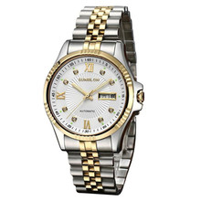 1PC Luxury men watch S509 Water Resistant Stainless Steel Men's Automatic Mechanical Watch relogio masculino Dropshipping NMB19