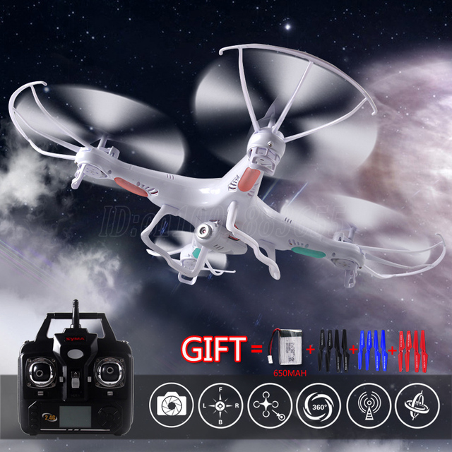 World free shipping latest upgrade quadrocopter 6 axis gyro syma helicopter X5C camera 2 million pixel high-definition camera